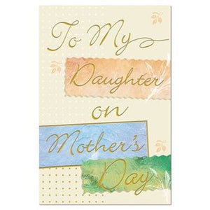 To My Daughter on Mother's Day