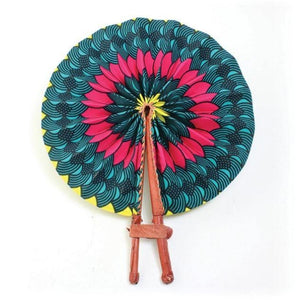 African Fan  - African Floral