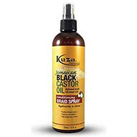 Kuza Jamaican Black Castor Oil Conditioning Braid Spray