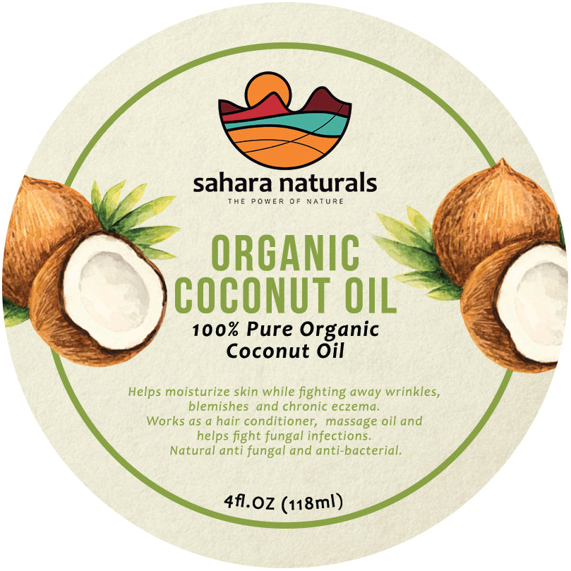 Organic Unrefined Coconut Oil