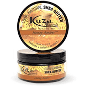 100% Natural Shea Butter - Honey Amber