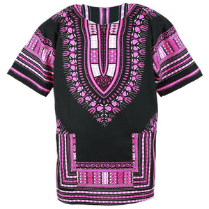 Black and Pink Dashiki