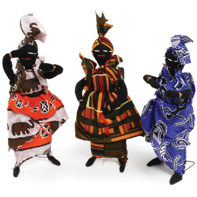 Senegal Woman Doll