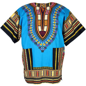 Unisex Light Blue Dashiki