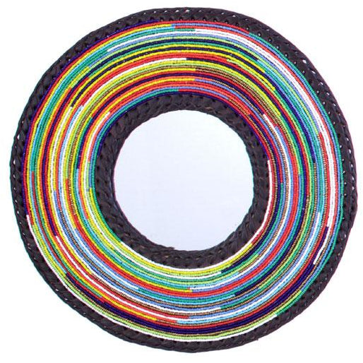 Massai Necklace Mirror - S