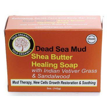 Dead Sea Mud & Shea Butter Healing Soap