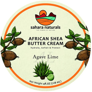 African Shea Butter Cream | Agave Lime