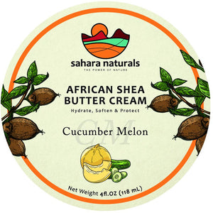 African Shea Butter Cream | Cucumber Melon