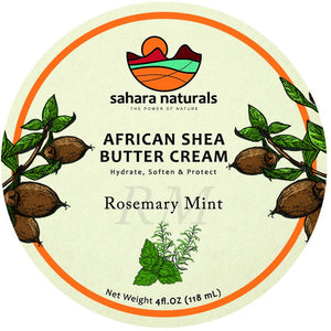 African Shea Butter Cream | Rosemary Mint