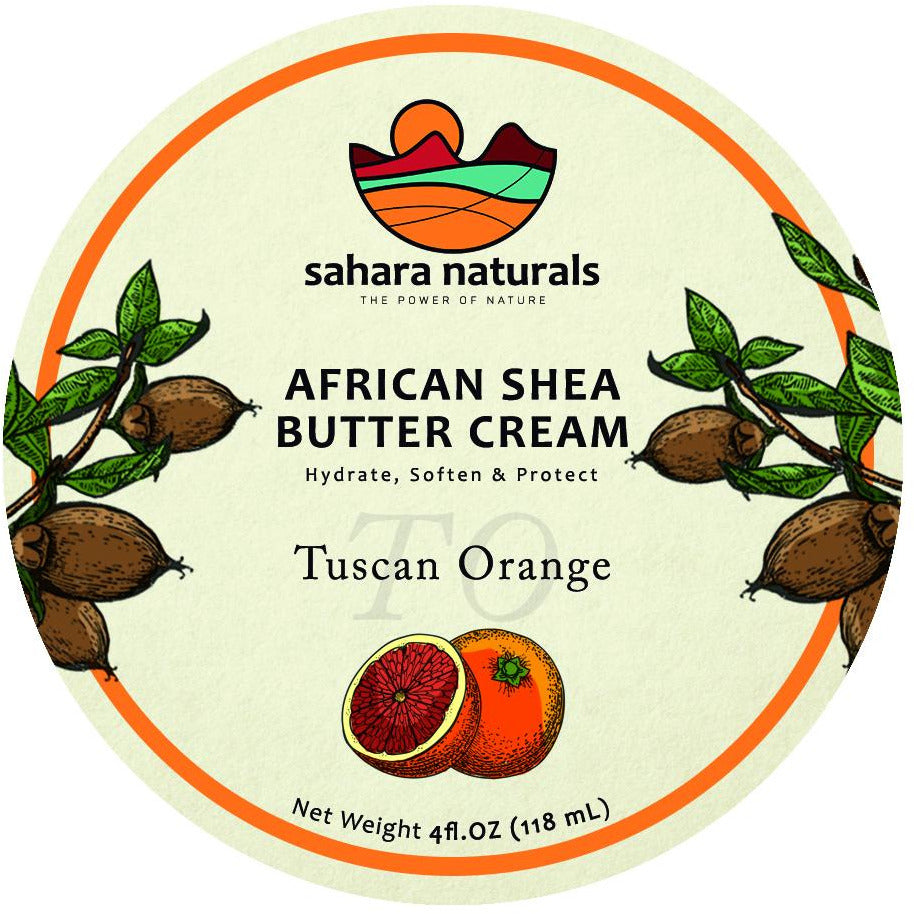 African Shea Butter Cream | Tuscan Orange
