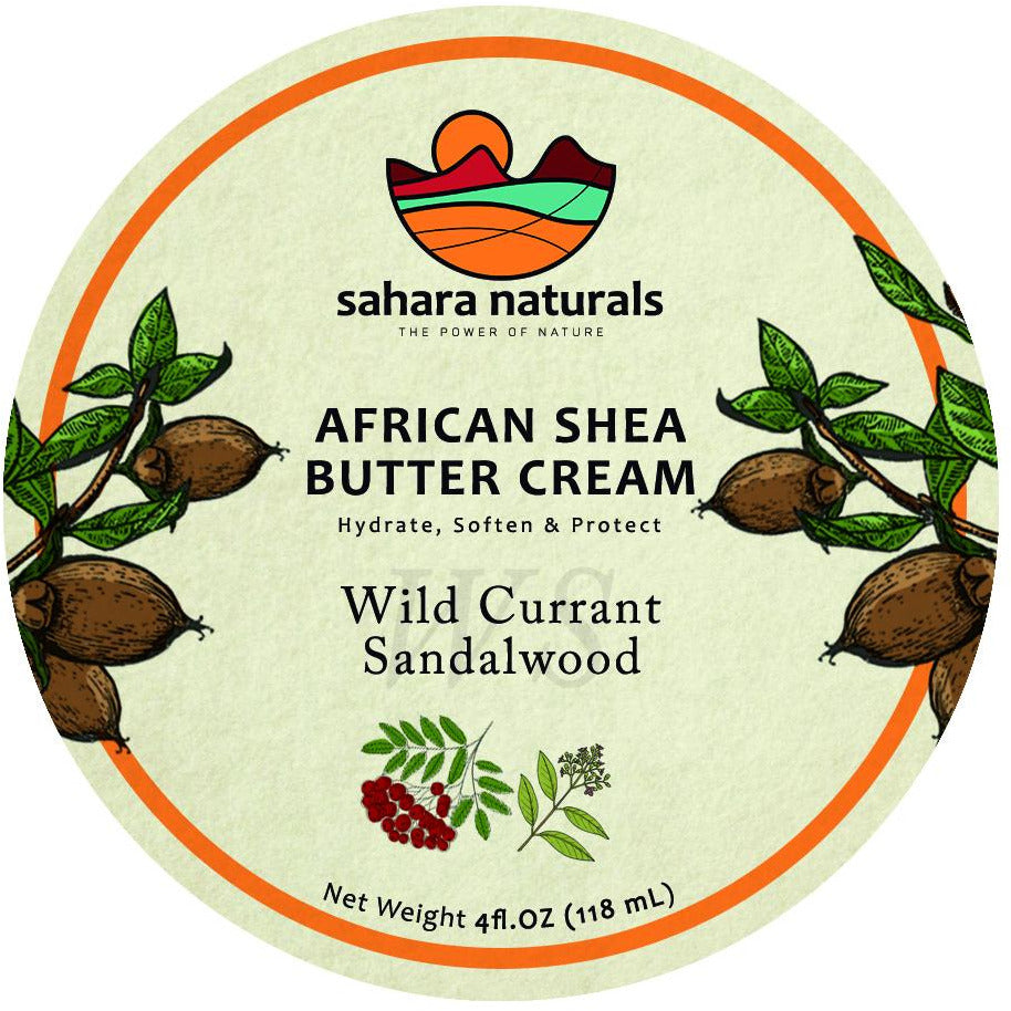 African Shea Butter Cream | Wild Currant Sandalwood