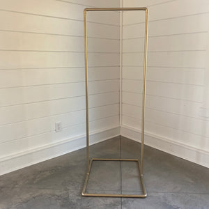 Modern Gold Sign Holder Rental Collection