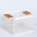 Modern White Storage Basket Rental