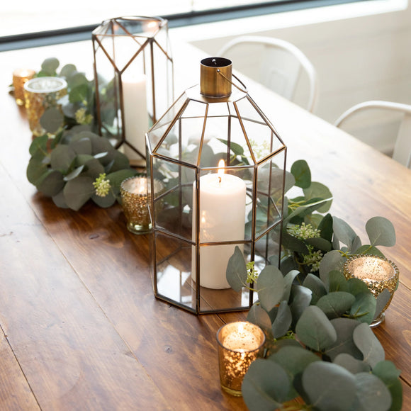 The Gold Lantern Table Decor Collection