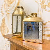 Large Gold Decorative Lantern Set Rental