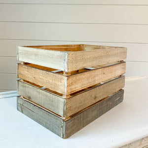 Wood Crate Rental