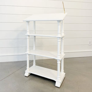 White Podium Rental
