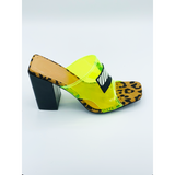 Show Stopper Heel- Lime Green