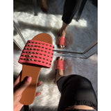 Betsy Sandal- Hot pink