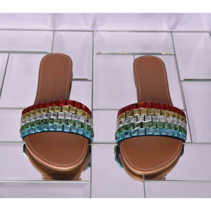 Bejeweled Sandal - Multi