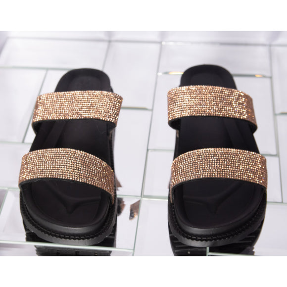 June Sandal- Rose Gold