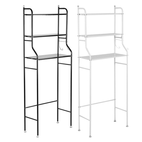 1 Set 3-Tier Iron Toilet Towel Storage Rack
