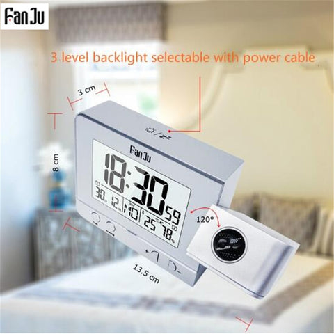 Fanju FJ3531 Projection Digital Alarm Clock