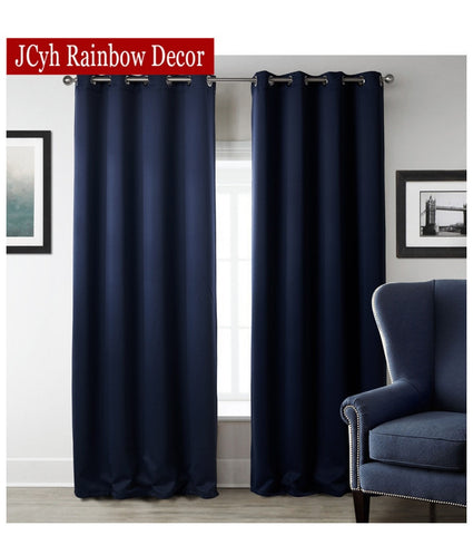 Image of JRD Modern Blackout Curtains For Living Room
