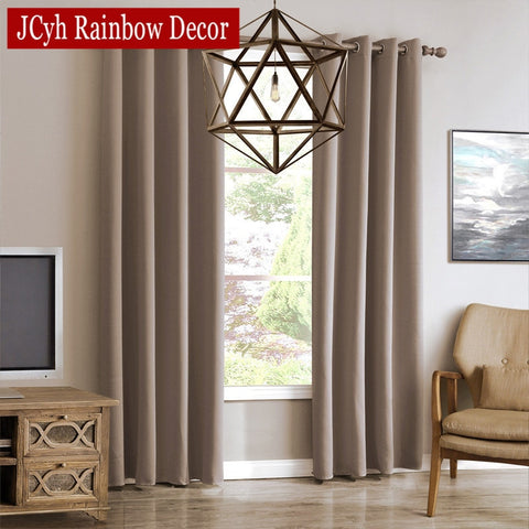 JRD Modern Blackout Curtains For Living Room