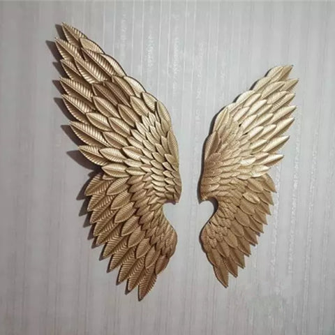 Creative Abstract  Retro Wing Wall Sculpture