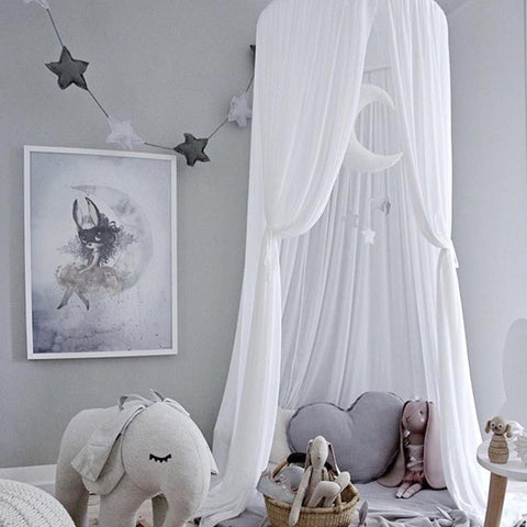 Image of Nordic Hanging Tent Baby Room Decor