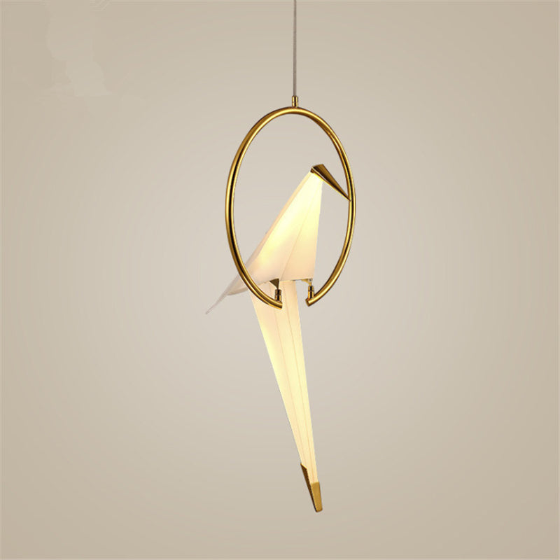 Nordic Postmodern Creative LED Birdie Bedroom Chandelier
