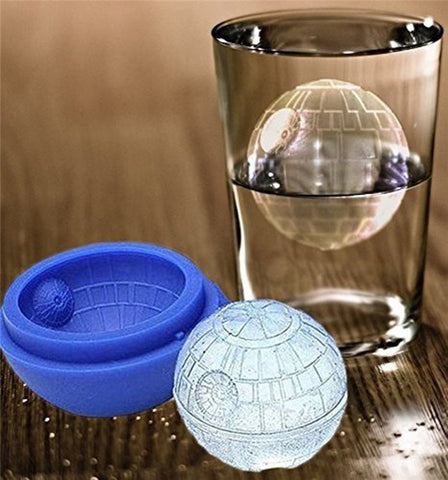 Silicone Death Star Cocktail Ice Mold