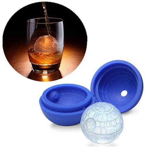 Image of Silicone Death Star Cocktail Ice Mold