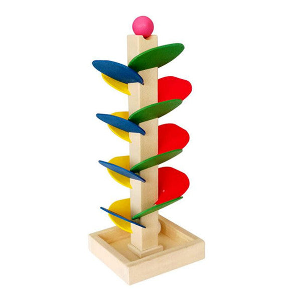 Montessori Wooden Tree Flying Bead Educational Toy