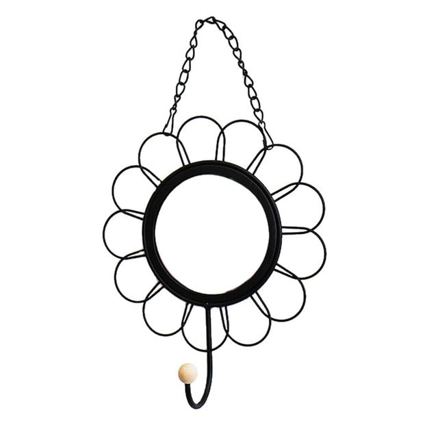 Nordic Style Geometric Eye Flower Design Mirror