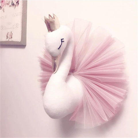 Nordic Style Kids Room Swan Decoration