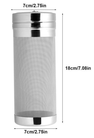 300 Micron Stainless Steel Hop Spider Mesh Beer Filter For Homemade Brew - Dry Hopper