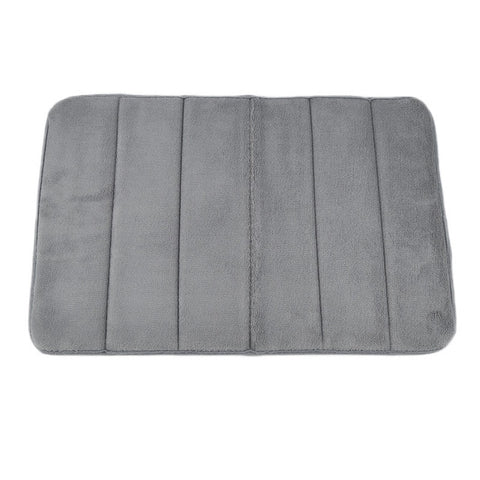Coral Fleece Memory Foam Bath Mat