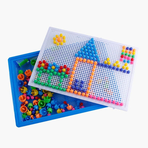 Image of 100+Pcs Wooden 3D Magnetic Puzzle Montessori Toy