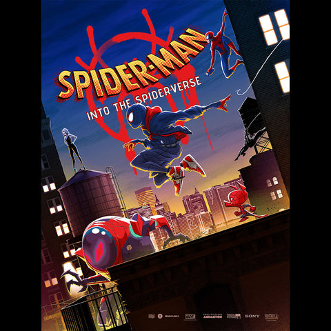 Spider-Man: Into the Spider-Verse Limited Edition Poster + Digital Album