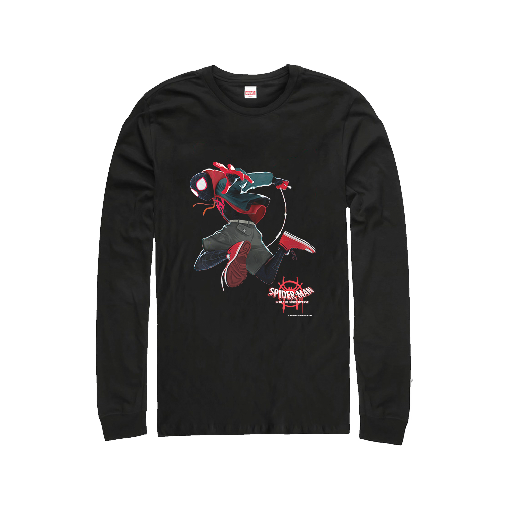 562b6c1d Jump Miles Longsleeve + Digital Album – Spider-Man: Into The Spider ...