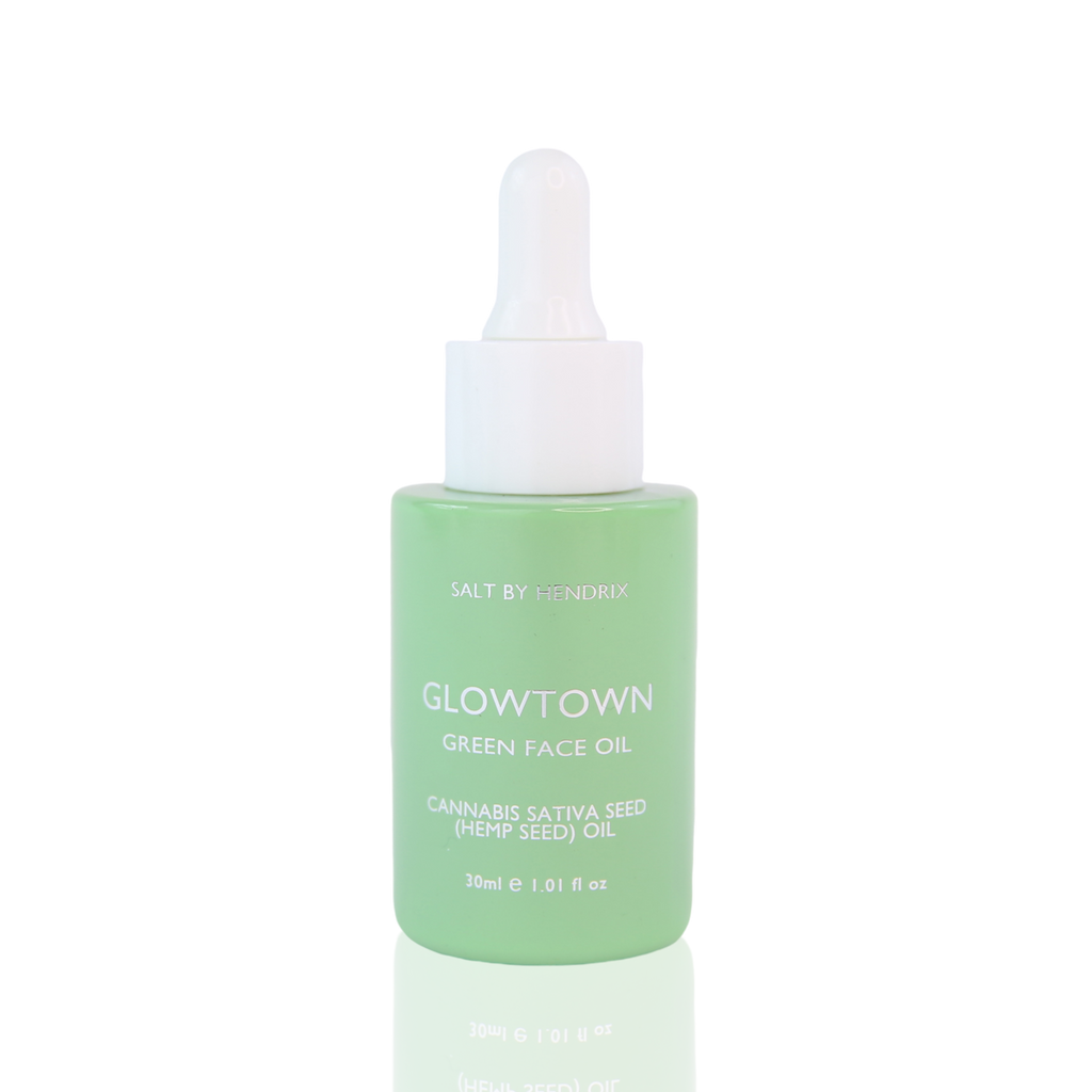 GLOWTOWN GREEN FACE OIL