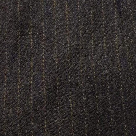 Striped Harris Tweed Ascot Scarf