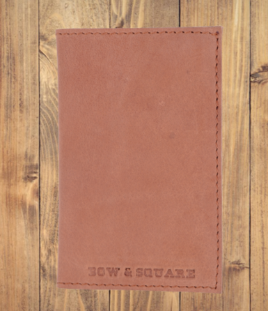 Journey Card & Cash Leather Wallet - Audubon Russet