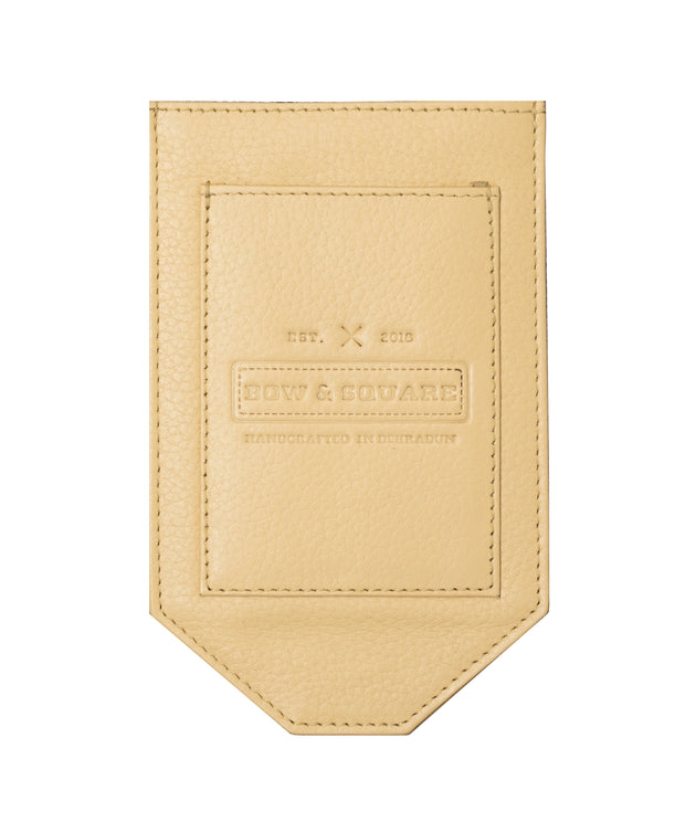 Camel Brown Pocket Square Holder