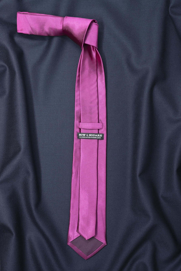 Regal Pink Solid Necktie