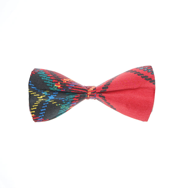 After 8  Red Geometric Bowtie