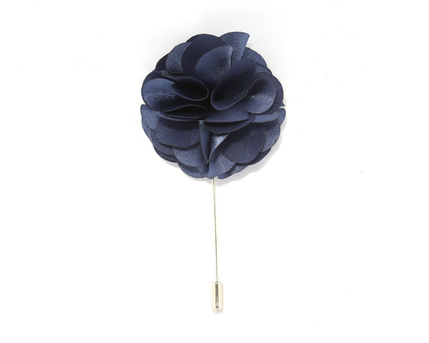 Space Solid Carnation Lapel Pin
