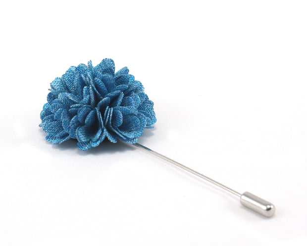 Sky Blue Double Hued Lapel Pin